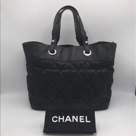 7a642ba53273 CHANEL Bags   Authentic Paris Biarritz Zip Tote Bag   Poshmark